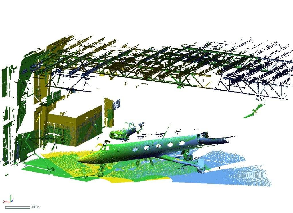 Gulfstream 3D Scanning by EMS