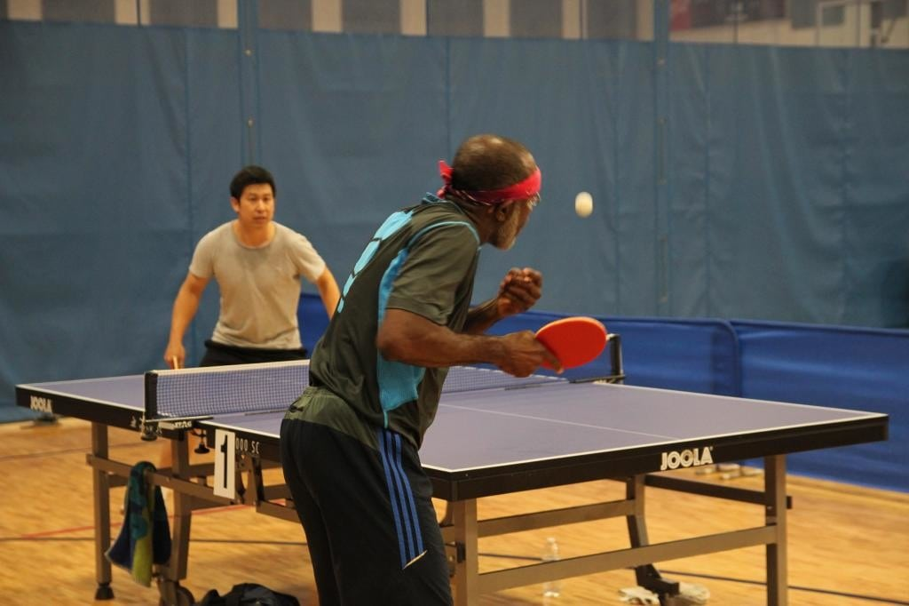 Health benefits of playing table tennis