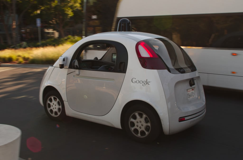 "Google's ""little car"" got into some ""big"" trouble"