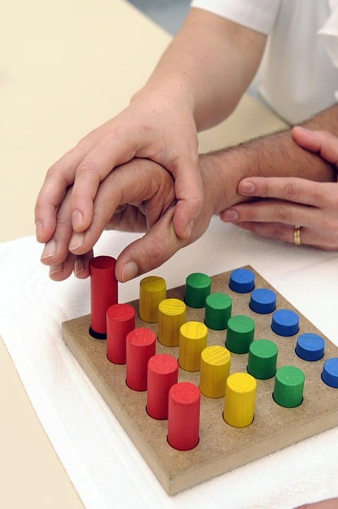 Equipment Used in Occupational Therapy for Children with Learning Disability
