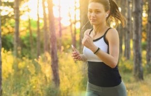 The fitness application to your smartphone