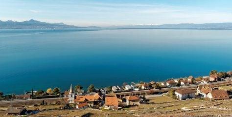 Lake Geneva or Leman (France, Switzerland)