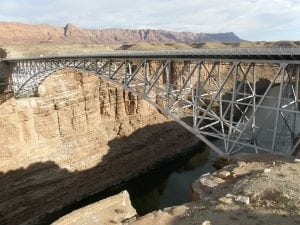 The Navajo Bridge