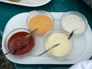 Sauces and mayonnaise